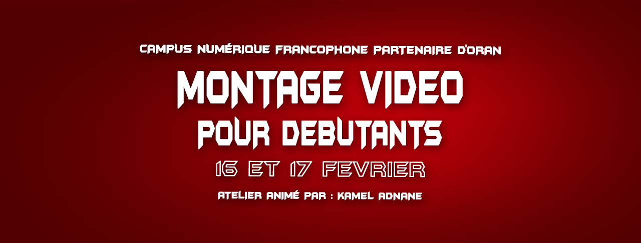 couverture montage video